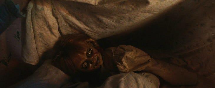 La poupée Annabelle dans le troisième volet