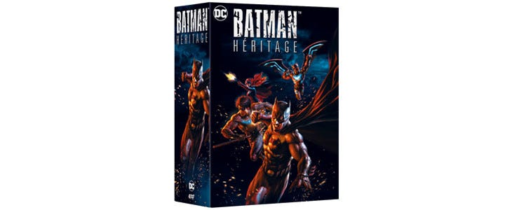 Coffret Batman Héritage