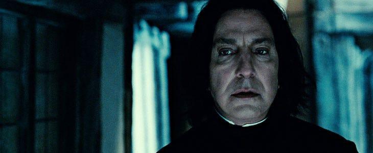 Alan Rickman dans Harry Potter et les Reliques de la Mort, partie 2