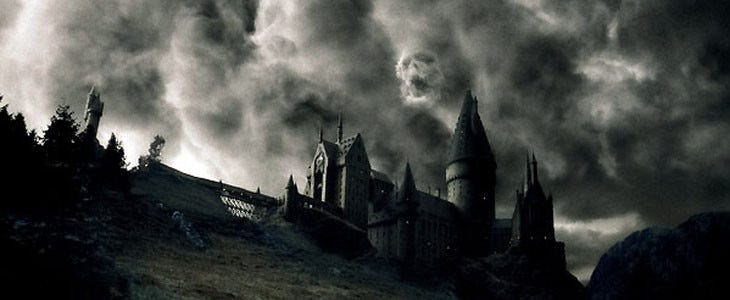 Hogwarts en Harry Potter e o príncipe Half-Blood