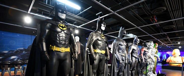 Les costumes de Batman exposés à The Batman Experience