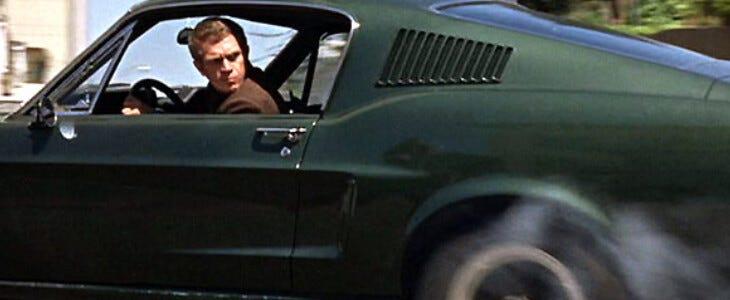 Bullitt, avec Steve McQueen.