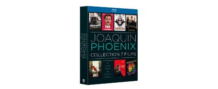 Coffret Joaquin Phoenix 7 films.