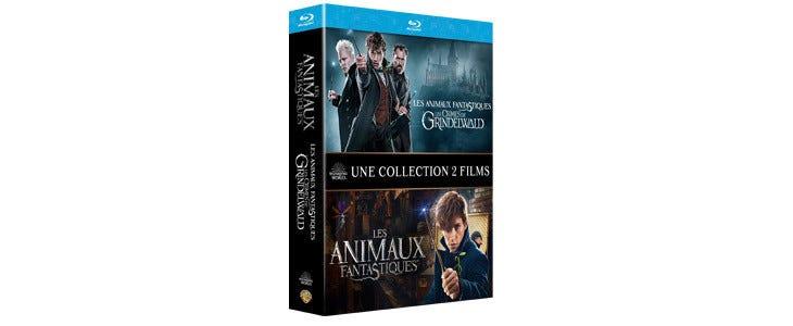 Coffret Les Animaux Fantastiques - 2 films
