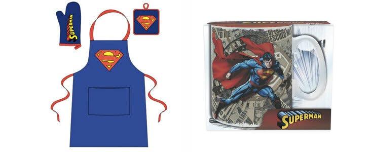 Set de cuisine Tablier Superman