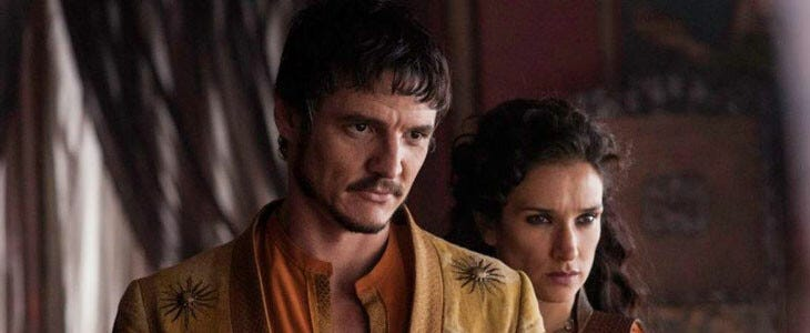 Pedro Pascal, dans Game of Thrones.