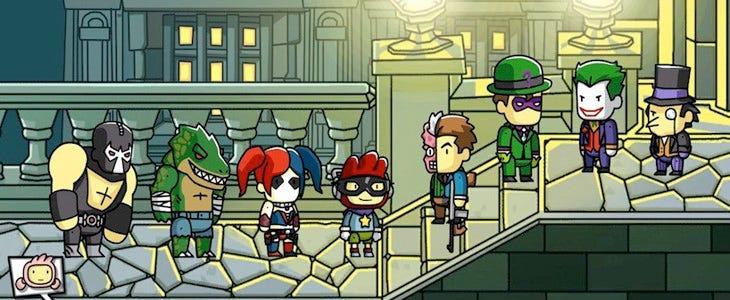Scribblenauts™ Unmasked : A DC Comics Adventure permet de jouer avec tous les super-méchants DC