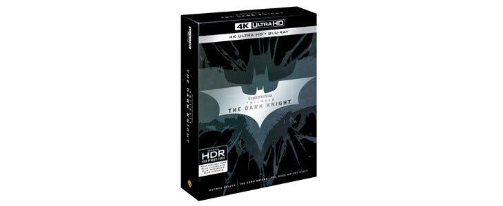 Redécouvrez la trilogie de Christopher Nolan en 4K Ultra HD.
