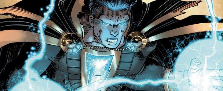 Black Adam détient des pouvoirs extrêmement puissants.