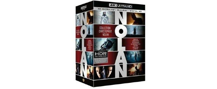 Coffret Nolan 7 films.
