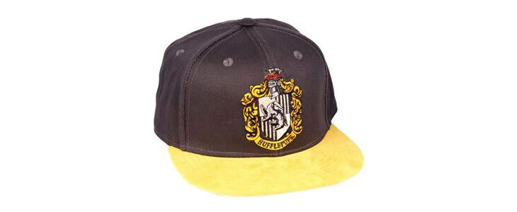 Une casquette Poufsouffle pour les fans de Harry Potter