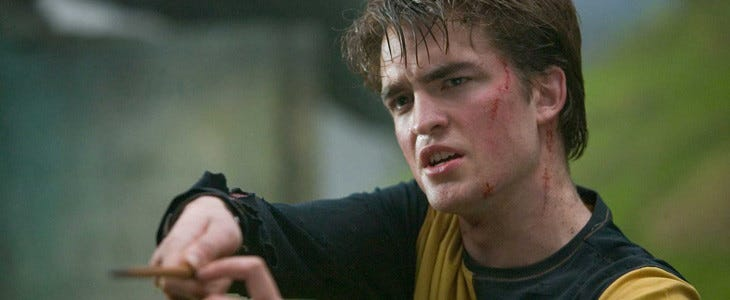 Robert Pattinson dans Harry Potter et la Coupe de feu