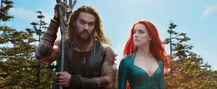Aquaman - Jason Momoa et Amber Heard