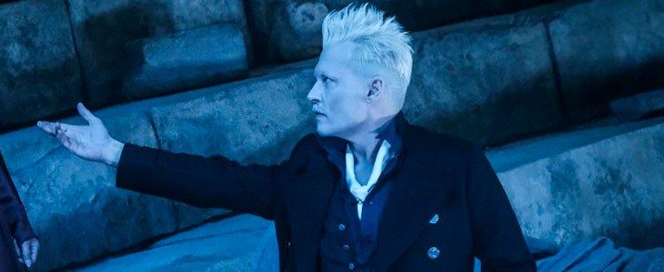 Gellert Grindelwald dans Les Animaux Fantastiques : Les Crimes de Grindelwald