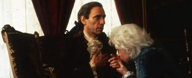 F. Murray Abraham alias Antonio Salieri dans Amadeus