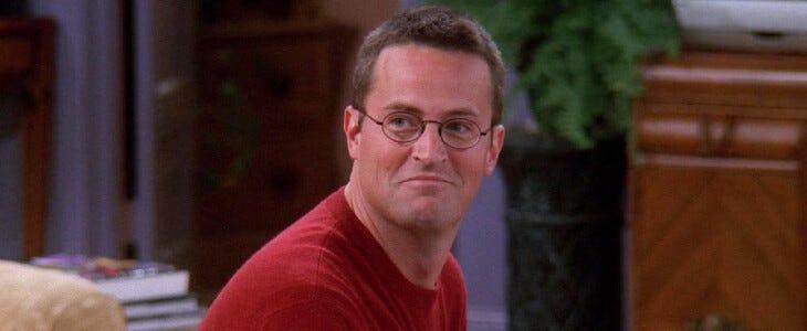 Joyeux anniversaire Chandler Bing !