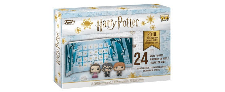 Calendrier de l'Avent Funko Harry Potter Pocket Pop version 2