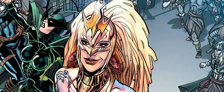 Wonder Woman - Hippolyte
