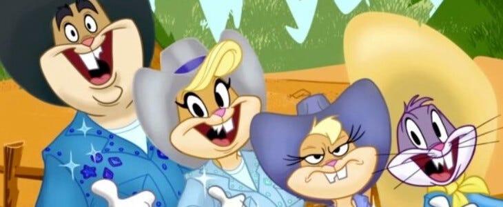 Bugs Bunny en compagnie de sa belle famille !
