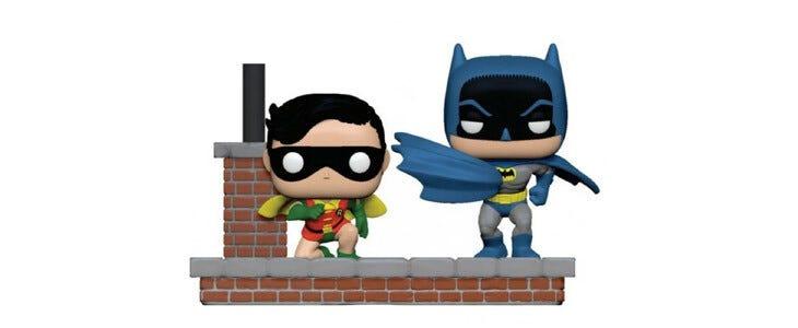 Ces figurines Funko Pop de Batman et Robin sont disponibles sur la boutique officielle dédiée à l'univers DC.