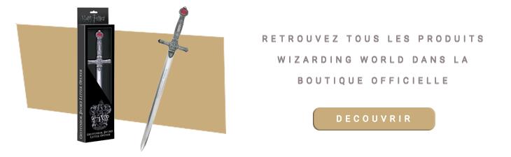 Ouvre-Lettre Épée de Gryffondor