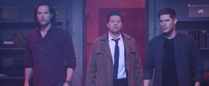 Supernatural saison 14 en DVD.