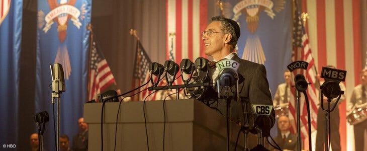 La série The Plot Against America est disponible en DVD.