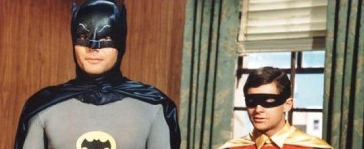 Batman - Adam West et Burt Ward