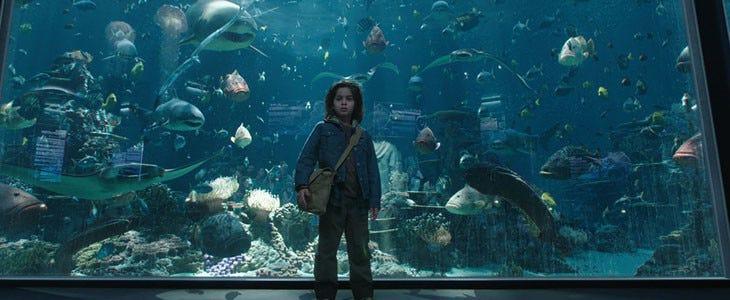 Aquaman - coulisses