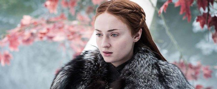 La belle Sansa Stark, alias Sophie Turner