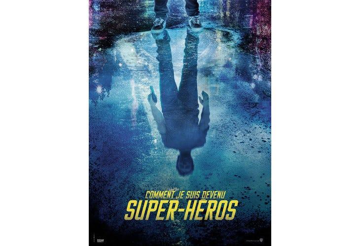 L'affiche officielle de Comment je suis devenu super-héros