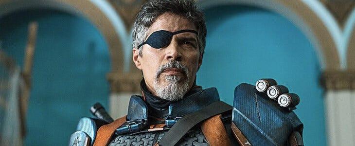Esai Morales incarne le mercenaire Deathstroke dans la série Titans