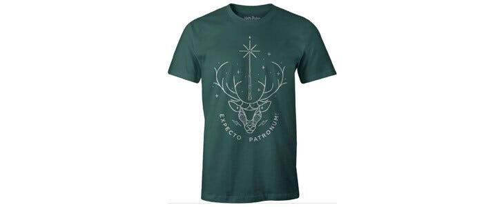 Un t-shirt Expectro Patronum pour les fans de Harry Potter