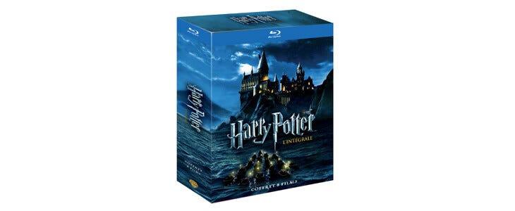 (Re)découvrez l'histoire de Harry Potter dans l'intégrale de la saga en Blu-Ray !