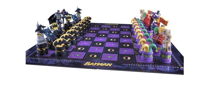 Echiqiuer Batman vs Joker