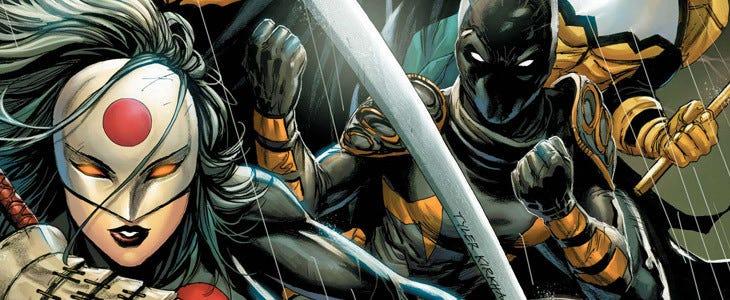 Batman and the Outsiders - DC Comics