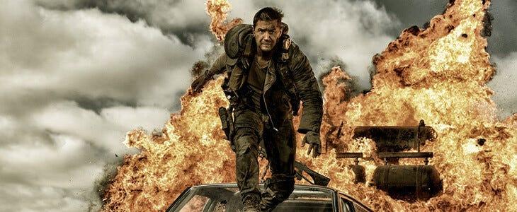Tom Hardy dans le quatrième opus de la franchise Mad Max