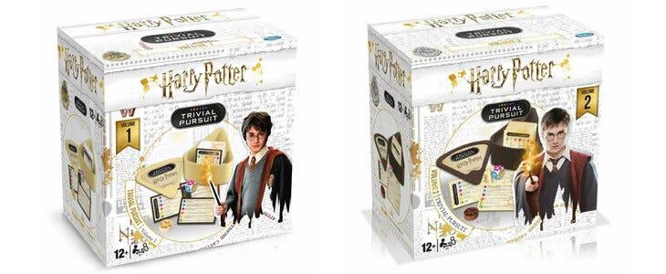 Des jeux Trivial Pursuit pour les fans de Harry Potter