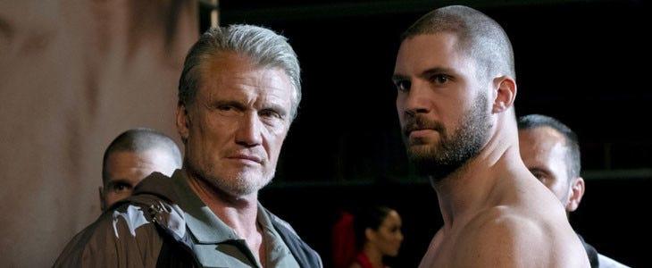 Creed 2 - Dolph Lundgren et Florian Monteanu