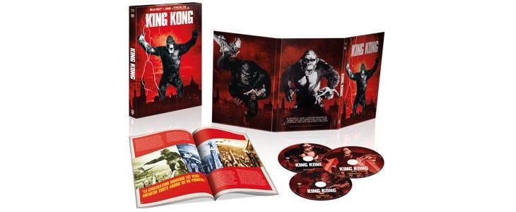 King Kong - coffret Noel