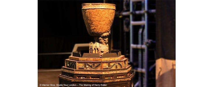 La Coupe de feu au Studio Tour Harry Potter