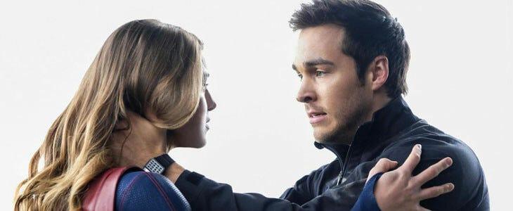 Chris Wood, alias Mon-El, dans Supergirl.