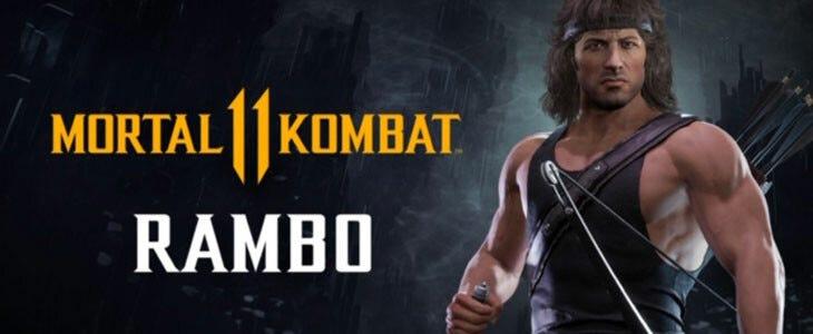 Sylvester Stallone sous les traits de Rambo est dans Mortal Kombat 11