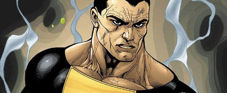 Black Adam est la version maléfique du super-héros Shazam.