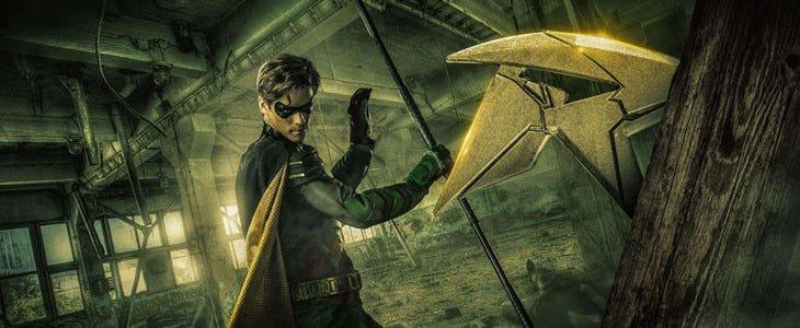 Dick Grayson, joué par Brenton Thwaites, dans la série Titans