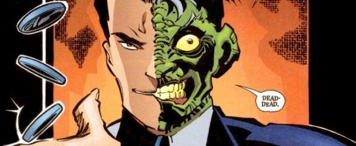 Double-Face, alias Harvey Dent.