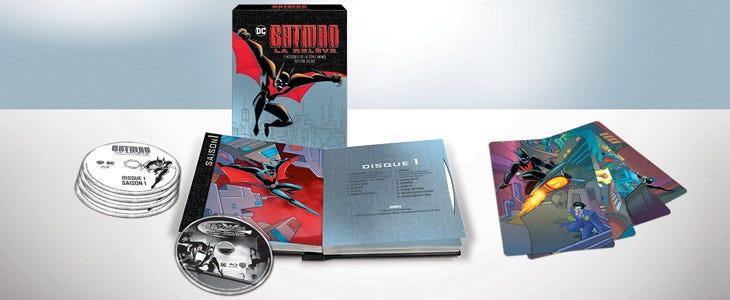 Batman Beyond aka Batman, la relève - édition standard et deluxe