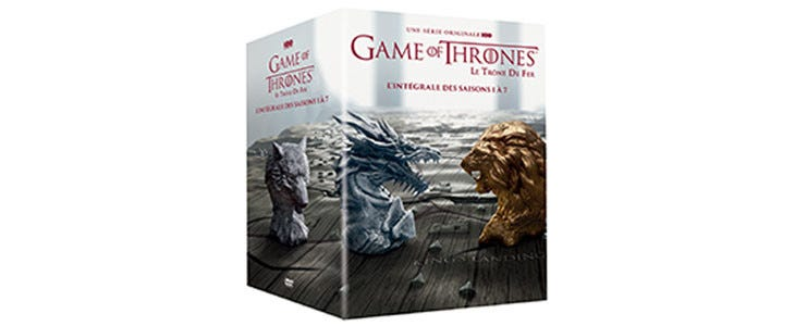 Coffret Game of Thrones S1-7