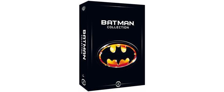 Coffret l'intégrale des 4 premiers Batman