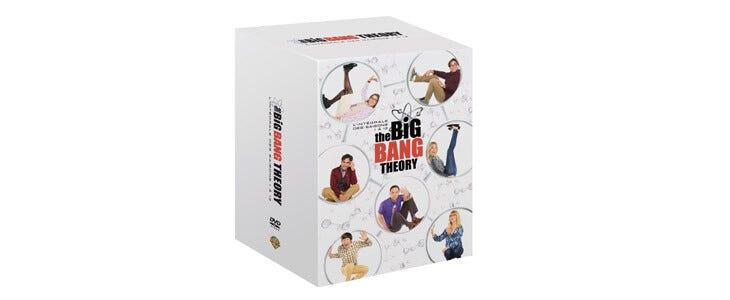 L'intégrale de la série The Big Bang Theory est disponible en DVD.